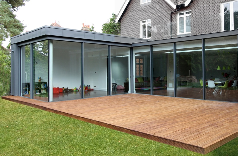 veranda aluminium toiture plate