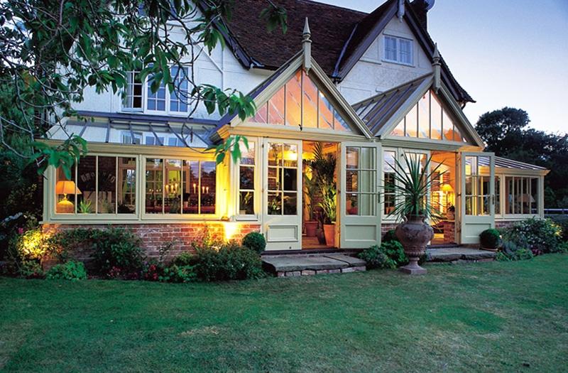 veranda en bois