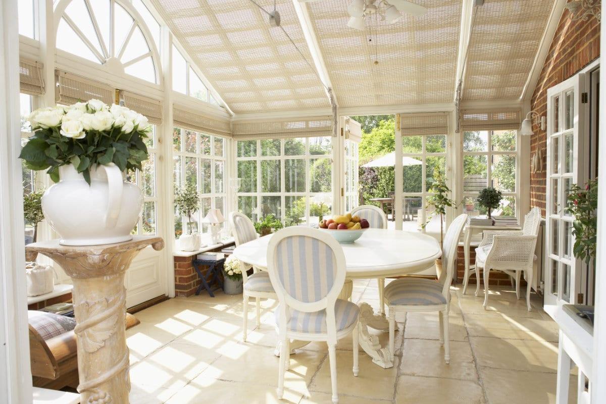 rustique pvc veranda