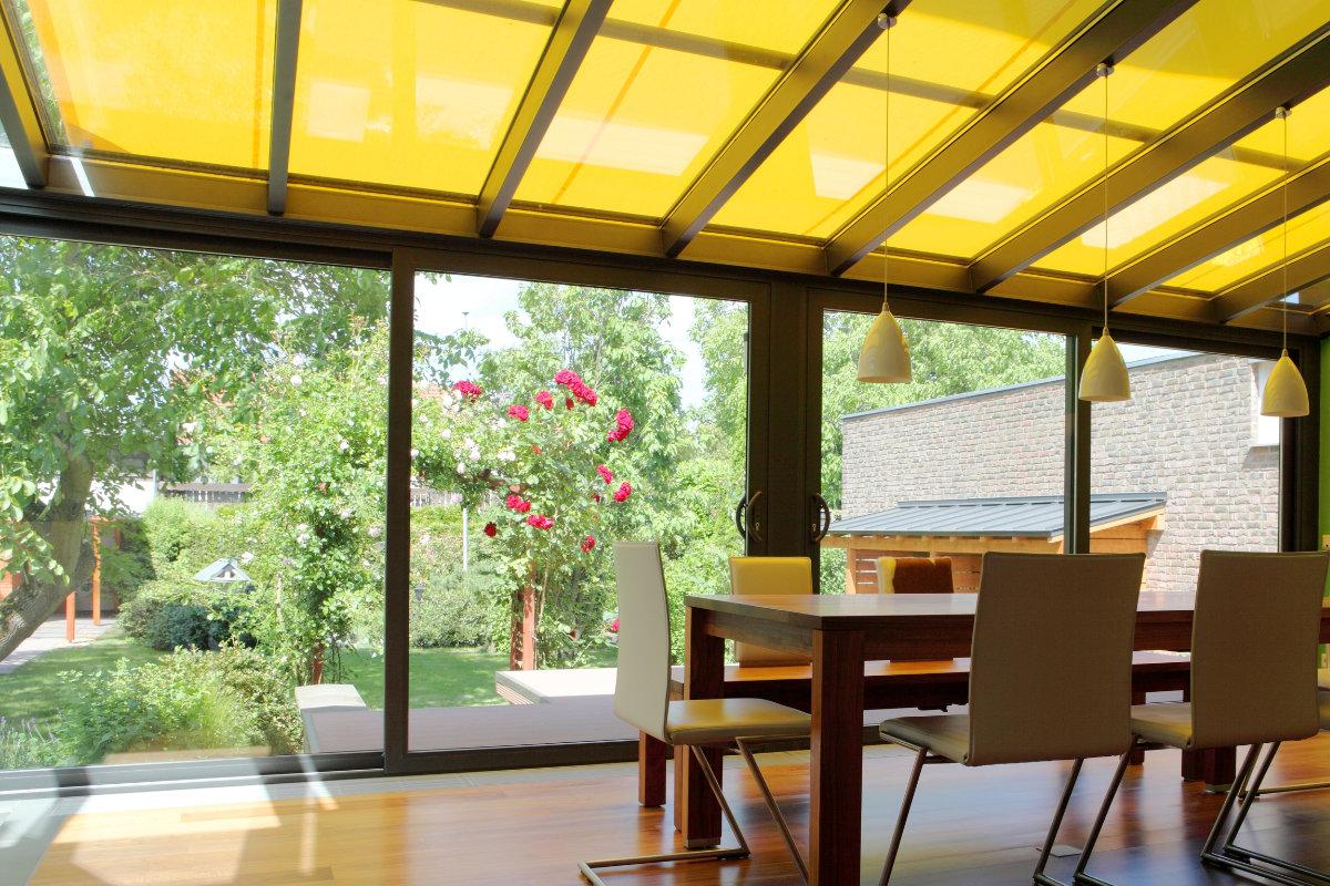 veranda en verre