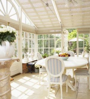 veranda rustique pvc
