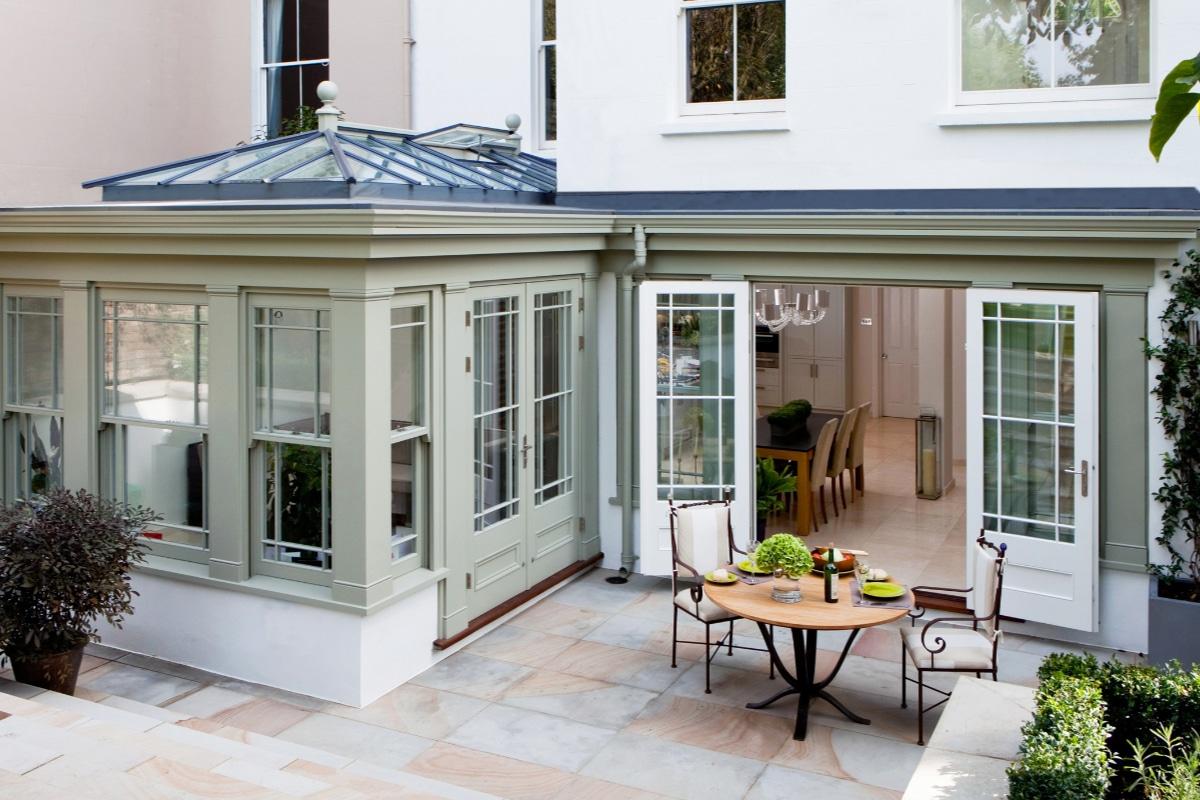 veranda rustique